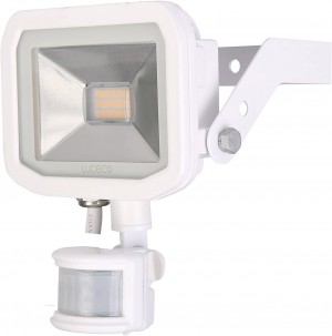 Luceco Guardian Slimline LED 8W Security Floodlight Neutral White With PIR 600 Lumens