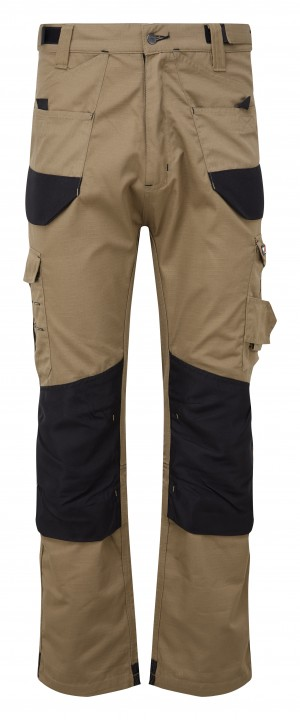 Tuffstuff Elite Ripstop Trade Work Trousers Sand Brown (Various Sizes)