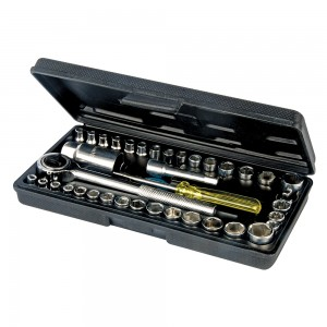 Task Socket Set with Carry Case 40 Piece