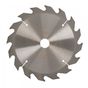 Triton Tungsten-Carbide Cordless Construction / Circular Saw Blade - 165mm x 20mm 16T
