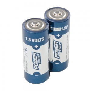 PowerMaster 1.5V Super Alkaline Batteries LR1 (Pack of 2)