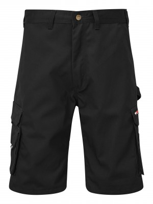 Tuffstuff Pro Cargo Work Shorts Black (Various Sizes)