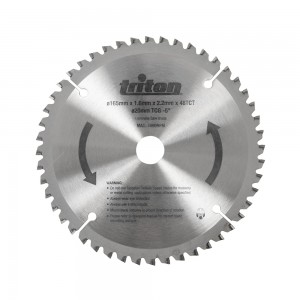 Triton Replacement TTS48TCG Tungsten Carbide Blade for TTS1400 Plunge Track Saw - 48T
