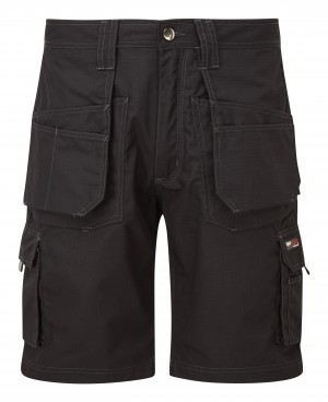 Tuffstuff Endurance Ripstop Work Shorts Black (Various Sizes)