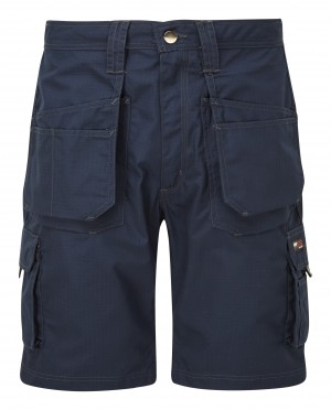 Tuffstuff Endurance Ripstop Work Shorts Navy (Various Sizes)