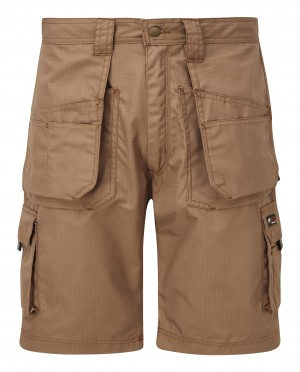 Tuffstuff Endurance Ripstop Work Shorts Sand Brown (Various Sizes)