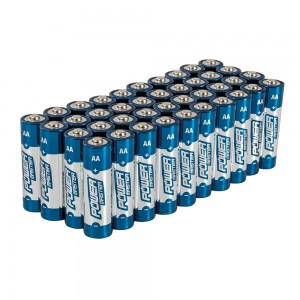 PowerMaster AA Super Alkaline Batteries LR6 (Pack of 40)