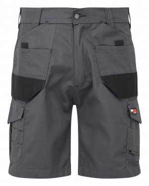 Tuffstuff Elite Ripstop Trade Work Shorts Grey (Various Sizes)