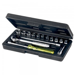 Task Socket Set with Carry Case 17 Piece