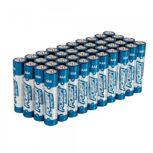 PowerMaster AAA Super Alkaline Batteries LR03 (Pack of 40)