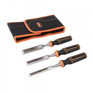 Triton TWCS3 Wood Chisel Set with Chrome Vanadium Blades - 13, 19 & 25mm (3 Piece)
