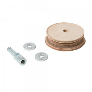 Triton TWSLHW Profiled Leather Honing Wheel for TWSS10 Whetstone Sharpener