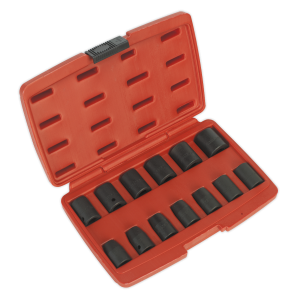 Sealey Premier 1/2in Impact Socket Set 13-Piece