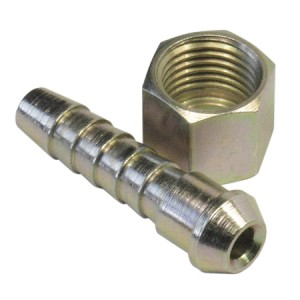 Toolpak 5/16in Hose & 1/4in BSP Airline Coned Tailpiece and Nut