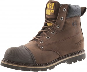 Buckler B301SM Anti-Scuff Safety Work Boots Chocolate Oil (Sizes 6-13)