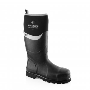 Buckler BBZ6000BK Waterproof Rubber Safety Wellington Boots Black (Sizes 5-13)