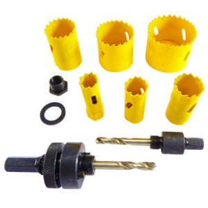 Toolpak Electricians Holesaw Cutter Set 8-Piece