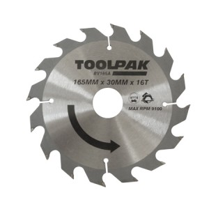 Toolpak Tradesman TCT Circular Saw Blade (Various Sizes)