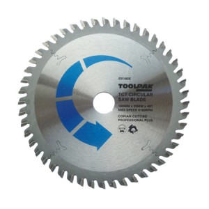 Toolpak Corian Cutting TCT Circular Saw Blade 160mm x 20mm x 48T