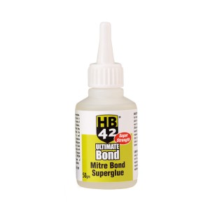 HB42 Ultimate Mitre Bond Superglue (Various Sizes)