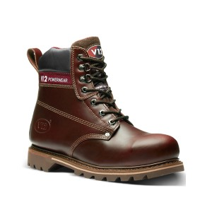 V12 Boulder Safety Work Boots Brown (Sizes 5-13)