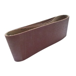 Toolpak Cloth Sanding Belts 100mm x 610mm Pack Of 3 (Various Grits)