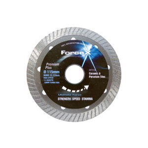 Force-X Premium+ Tile Cutting Diamond Blade 115mm