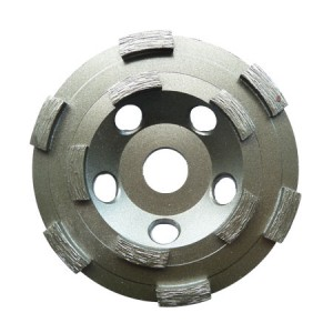 Force-X Double Row Diamond Cup Grinding Wheel 125mm