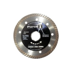 Force-X Premium+ Hard Material Diamond Blade (Various Sizes)
