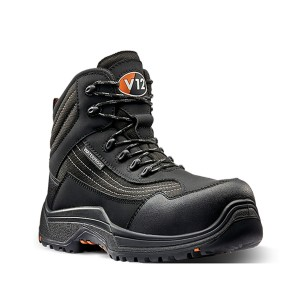 V12 Caiman Waterproof Safety Work Boots Black (Sizes 3-16)
