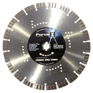 Force-X DBX300 Premium+ General Purpose Diamond Blade 300mm