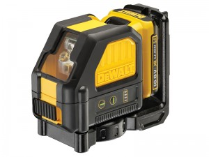 DeWalt DCE088D1G Cordless 10.8v Self-Levelling Green Beam Cross Line Laser Level & 2.0Ah Li-Ion Batt