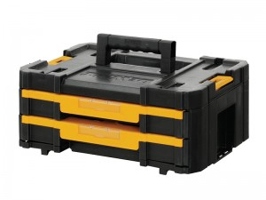 DeWalt TSTAK IV Secure Shallow Drawer Toolbox 440 x 176 x 314mm