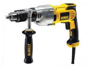 DeWalt D21570K 1300w Dry Diamond Drill 2 Speed 127mm 110v