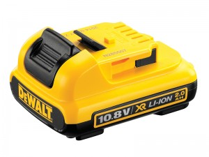 DeWalt DCB127 XR 10.8v Li-Ion Slide Battery Pack 2.0Ah