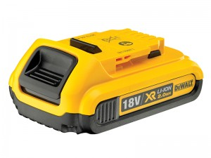 DeWalt DCB183 XR 18v Li-Ion Slide Battery 2.0Ah