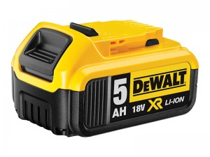 DeWalt DCB184 XR 18v Li-Ion Slide Battery 5.0Ah