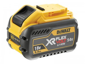 DeWalt DCB547 FlexVolt XR 18/54v Li-Ion Slide Battery 9.0/3.0Ah