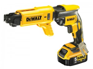 DeWalt DCF620P2K Cordless 18v Brushless Collated Drywall Screwdriver 2 x Li-Ion 5.0Ah Batts