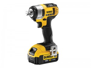DeWalt DCF880M2 XR Cordless 18v Compact Impact Wrench & 2 x Li-Ion 4.0Ah Batts