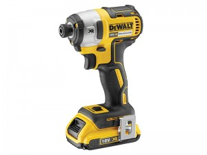 DeWalt DCF887D2 XR Cordless 18v Brushless 3 Speed Impact Driver & 2 x Li-Ion 2.0Ah Batts