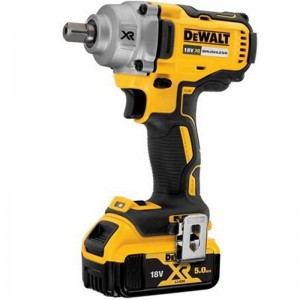 DeWalt DCF894P2 XR Cordless 18v Impact Wrench 1/2in & 2 x Li-Ion 5.0Ah Batts