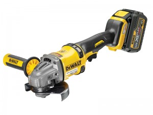 DeWalt DCG414T2 FlexVolt XR Cordless 18/54v Angle Grinder 125mm & 2 x Li-Ion 6.0/2.0Ah Batts