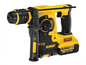 DeWalt DCH254 M2 Cordless 18v SDS Plus 3 Mode Hammer Drill & 2 x Li-Ion 4.0Ah Batts