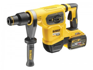 DeWalt DCH481X2 XR FlexVolt Cordless 18/54v Brushless SDS Max Hammer & 2 x Li-Ion 9.0/3.0Ah Batts