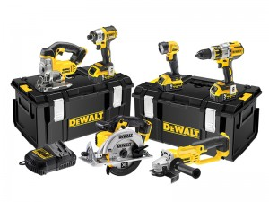 DeWalt DCK694P3 Cordless 18v Brushless 3-Speed 6-Piece Powertool Kit With 3 x Li-Ion 5.0Ah Batts