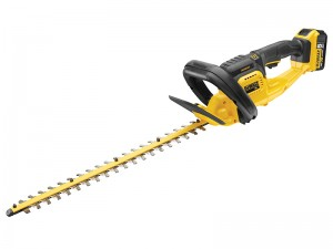 DeWalt DCM563P1 Cordless 18v Hedge Trimmer & Li-Ion 5.0Ah Batt