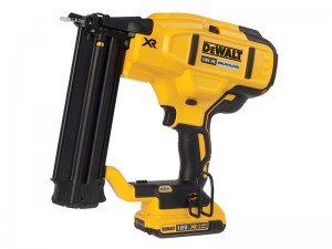 DeWalt DCN680D2 XR Cordless 18v Brushless 18 Gauge Brad Nailer & 2 x Li-Ion 2.0Ah Batts
