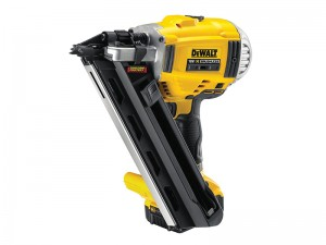 DeWalt DCN692P2 XR Cordless 18v 2 Speed First Fix Nailer 90mm & 2 x Li-Ion 5.0Ah Batts