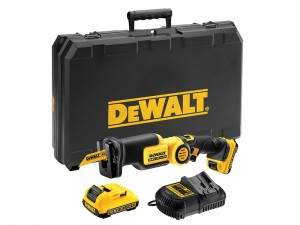 DeWalt DCS310D2 Cordless 10.8v Pivot Reciprocating Saw & 2 x Li-Ion 2.0Ah Batts